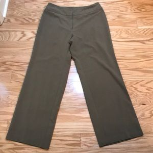 Requirement olive dress pant trousers size 10P